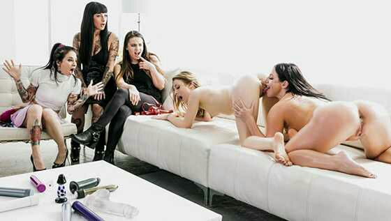 Passion Party – Angela White, Karla Kush