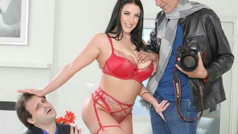Cucked – Angela White – Loves A Photographer That Will Do Anything For Her