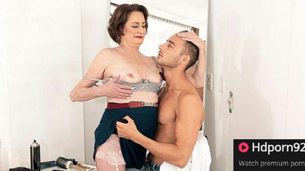 60 Plus Milfs – Renee Kane – Haircut, blow & more from our new 60Plus MILF