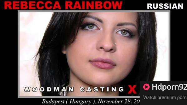 Woodman Castig X - Rebecca Rainbow - Casting X 173