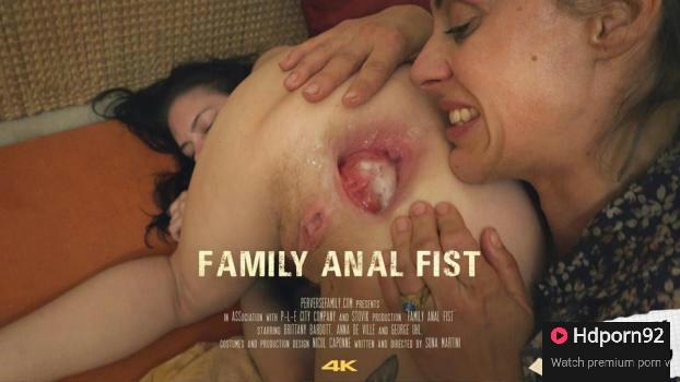 Perverse Family – Family Anal Fist – Aunt Sandra & Suzan – E19