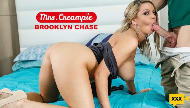 Mrs. Creampie – Brooklyn Chase – I Like My Donuts Filled With Cream