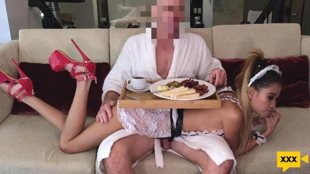 MongerInAsia – Natasha – Beautiful Skinny Teen Maid Impregnated by Massive Cock