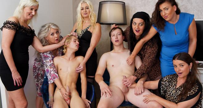 Grand Mams – Crazy Grannies And Toyboys Part 1